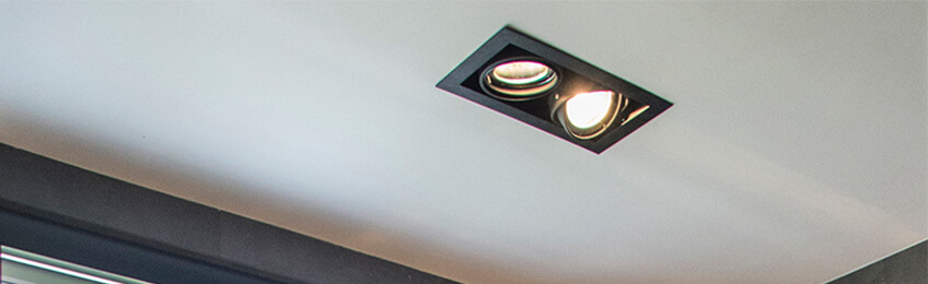 Recessed spotlights