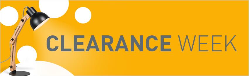 Clearance Week!