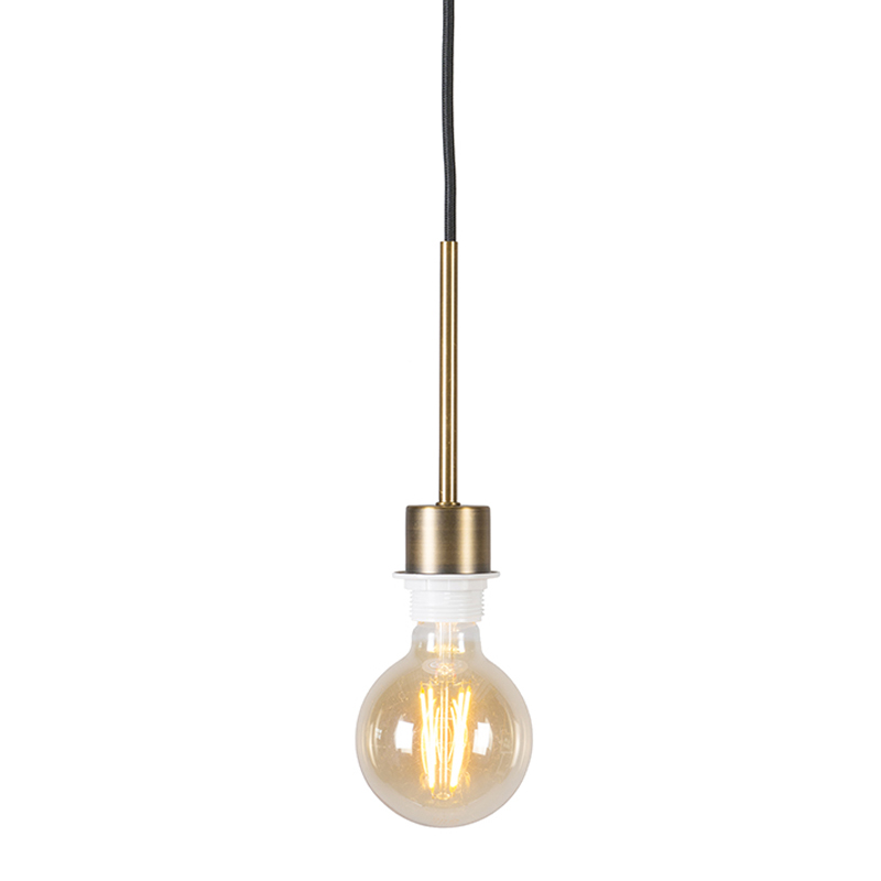 Modern Pendant Lamp Bronze With Black