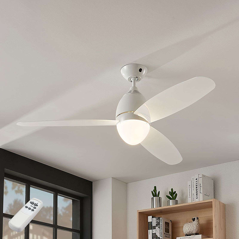 Design Ceiling Fan White With Remote