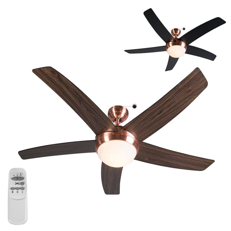Ceiling Fan Cool 52 Copper Lampandlight