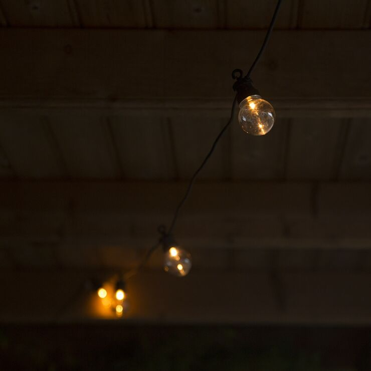 Outdoor Party String Lights Globe 20, Globe Outdoor Light Ceiling
