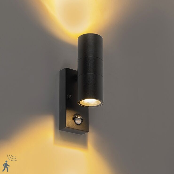 Motion Sensor Ip44 Duo Lampandlight, Outdoor Led Wall Lights With Motion Sensor