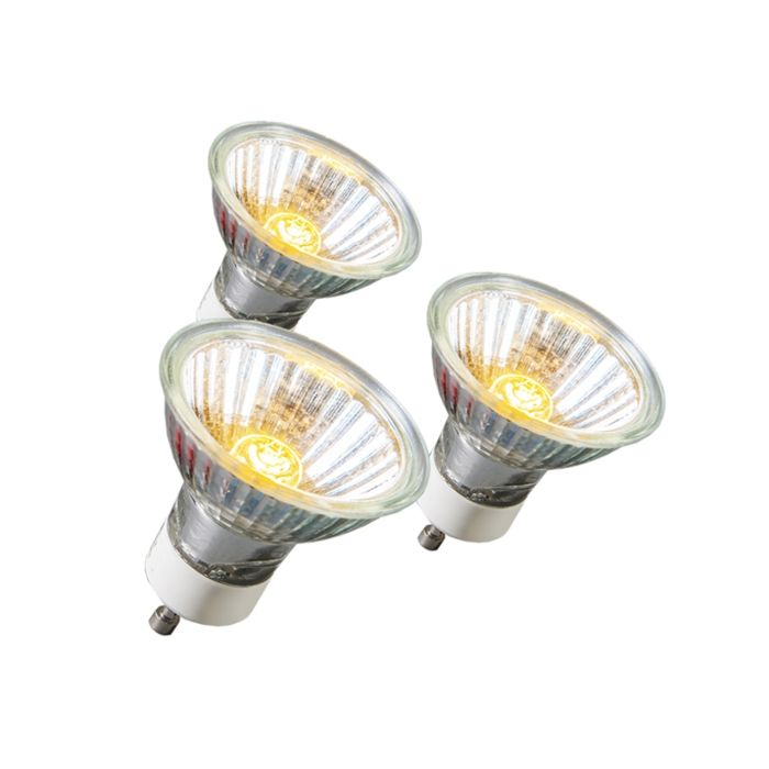 Set-of-3-GU10-Halogen-18W-95LM