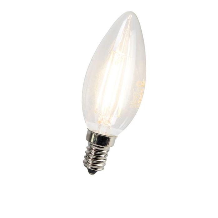 Candle-bulb-Filament-LED-E14-3W-300-Lumen