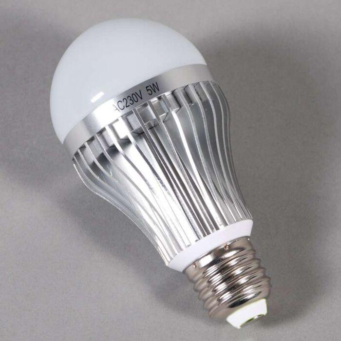 LED-bulb-lamp-E27-5W-=-45W-amount-of-light