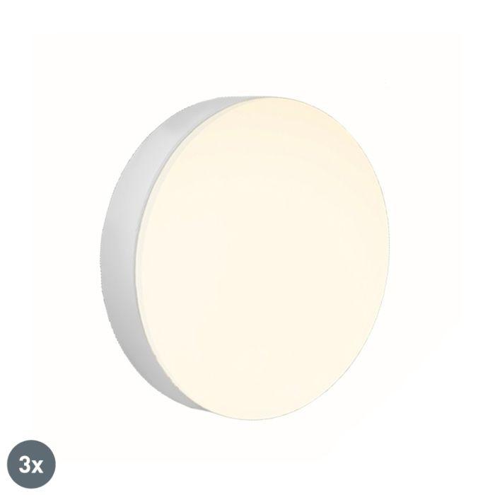 Set-of-3-GX53-LED-lamps-6W-400-lm-2700-K