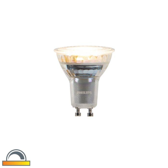 GU10-dim-to-warm-Philips-LED-lamp-3.7-W-260-lm-2200K---2700K