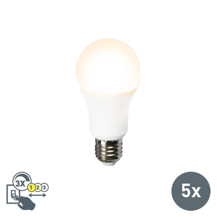 Set-of-5-E27-LED-A60-12W-1000LM-3in1