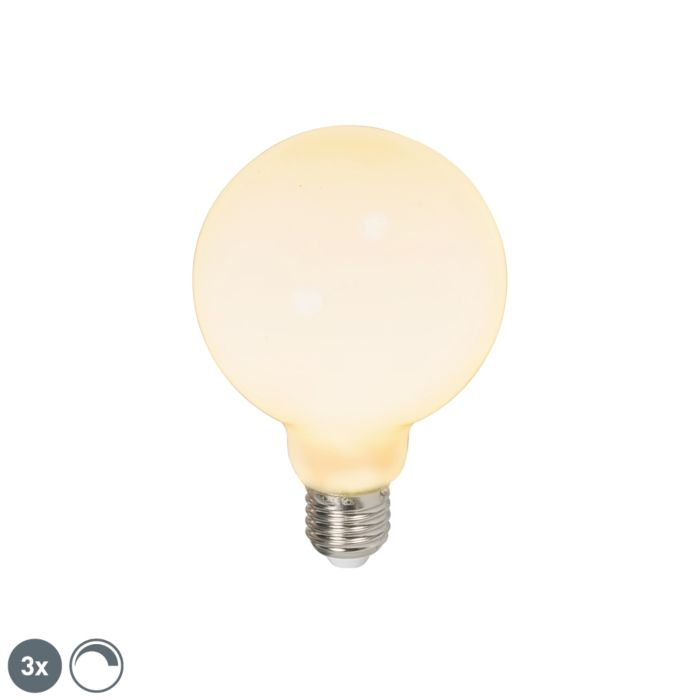 Set-of-3-E27-LED-G95-Opal-6W-650LM-2700K-Dimmable