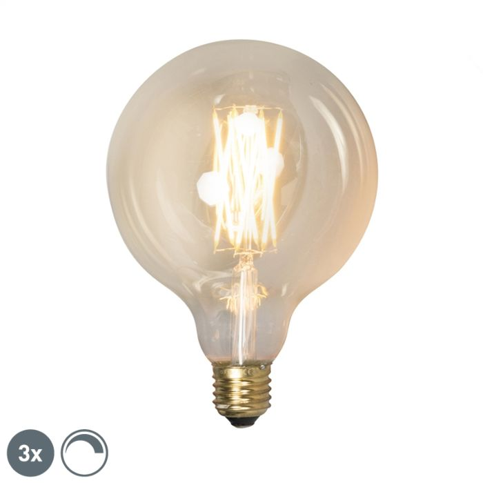 Set-of-3-E27-LED-G125-Gold-Filament-4W-320LM-2100K-Dimmable