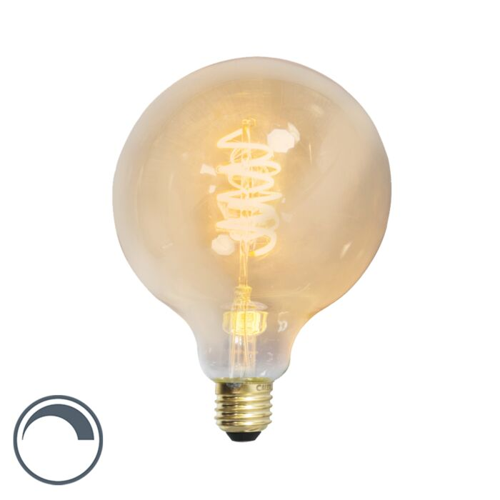 E27-LED-G95-Gold-Spiral-Filament-4W-200LM-2100K-Dimmable