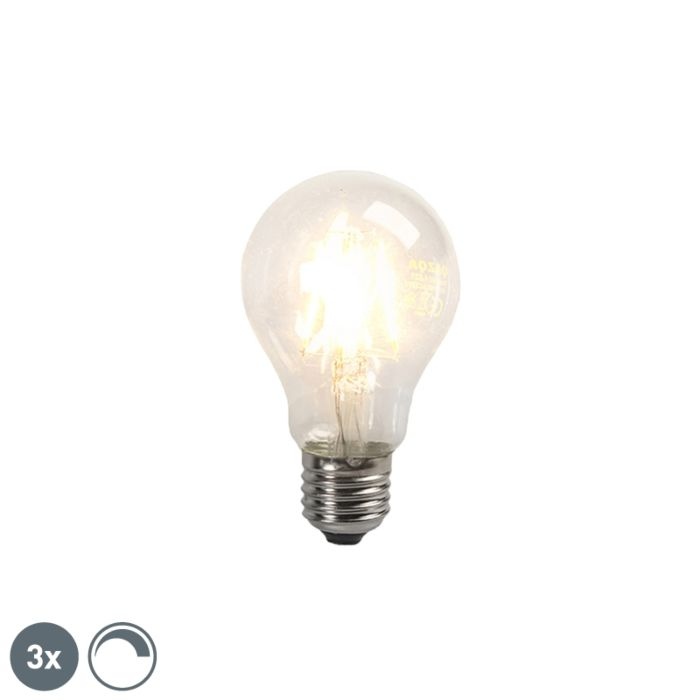 Set-of-3-E27-LED-Clear-Filament-4W-390LM-2200K-Dimmable