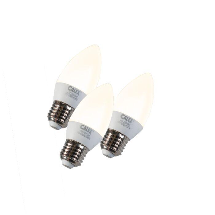 Set-of-3-E27-LED-Candle-5W-330LM