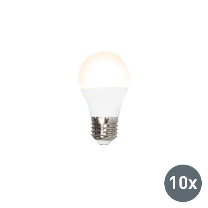Set-of-10-E27-LED-G45-3W-250LM