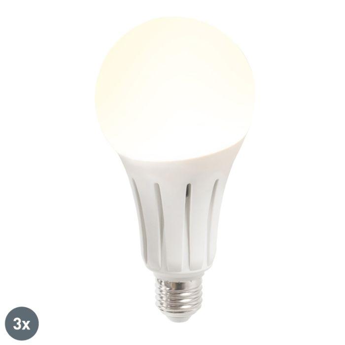 Set-of-3-E27-LED-B60-18W-1750LM