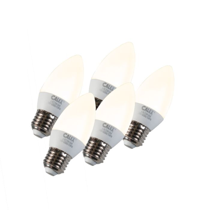 Set-of-5-E27-LED-Candle-5W-330LM