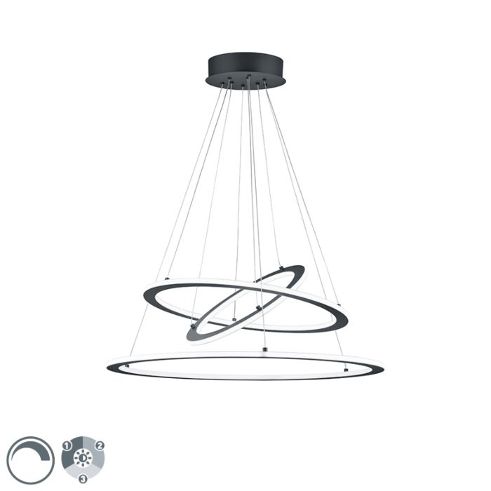Design-hanging-lamp-gray-incl.-LED-3-step-dimmable---Tijn