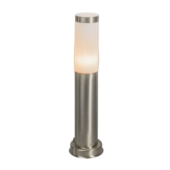 Modern-outdoor-lamp-pole-steel-45-cm-IP44---Rox