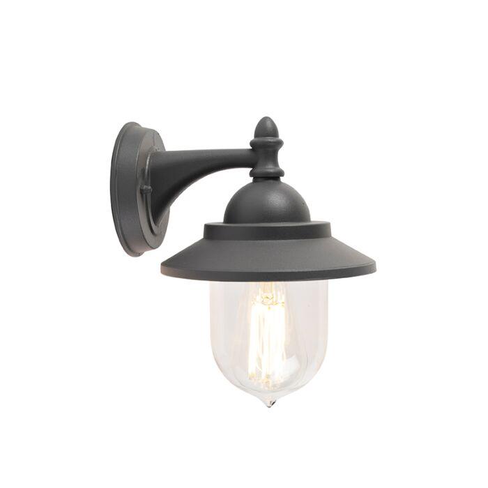 Romantic-outdoor-wall-lamp-dark-gray---Oxford