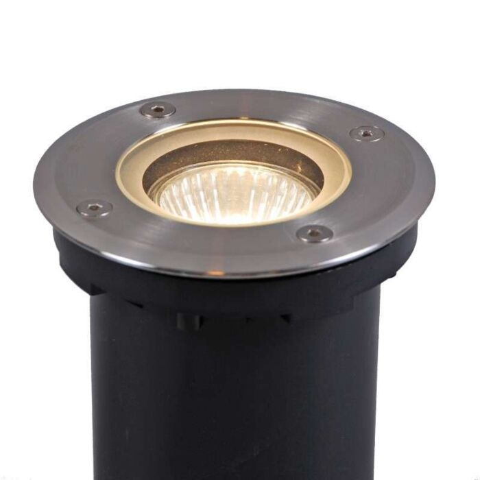 Ground-Spotlight-Luton-Round-including-halogen-bulb