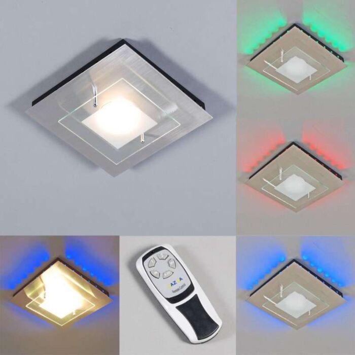 Ceiling-lamp-Plate-GX-RGB-LED-steel