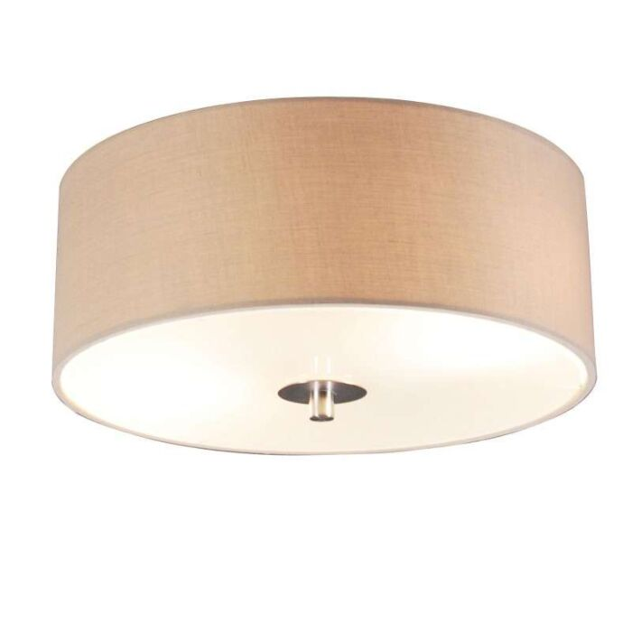 Country-ceiling-lamp-beige-30-cm---Drum