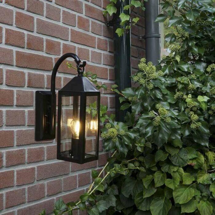 Country-wall-light-black-IP44---Bussum
