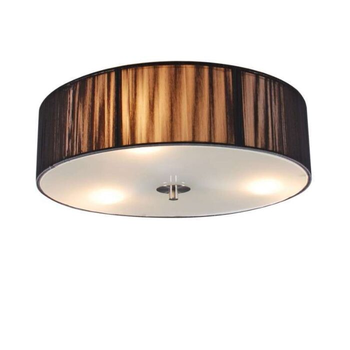 Ceiling-Lamp-Drum-Rope-Round-40-Dark-Grey