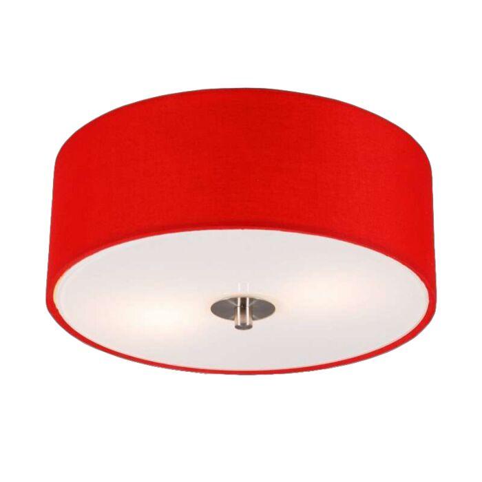 Modern-Ceiling-Lamp-30cm-Red---Drum