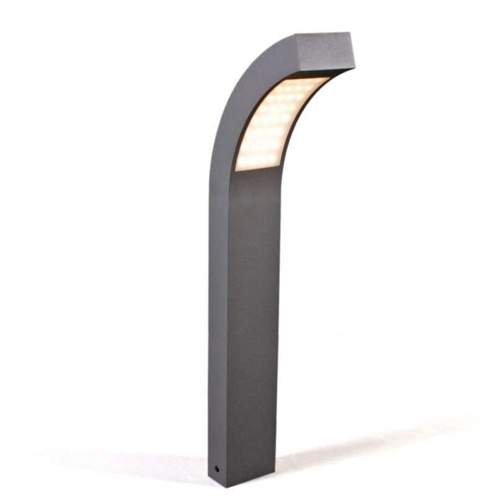 Outdoor-lamp-Sweden-LED-P60-graphite