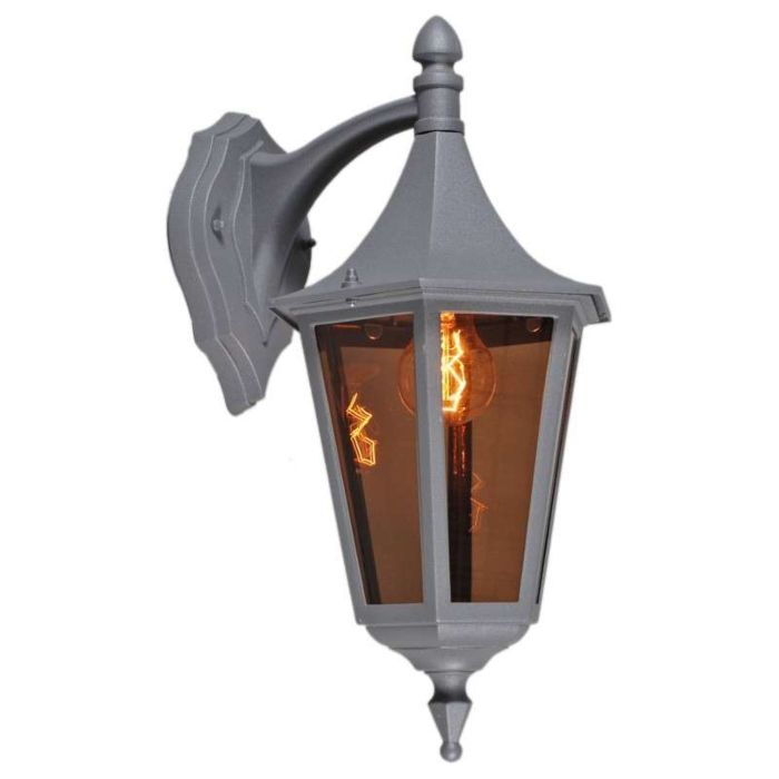 Outdoor-wall-lamp-President-Down-Graphite
