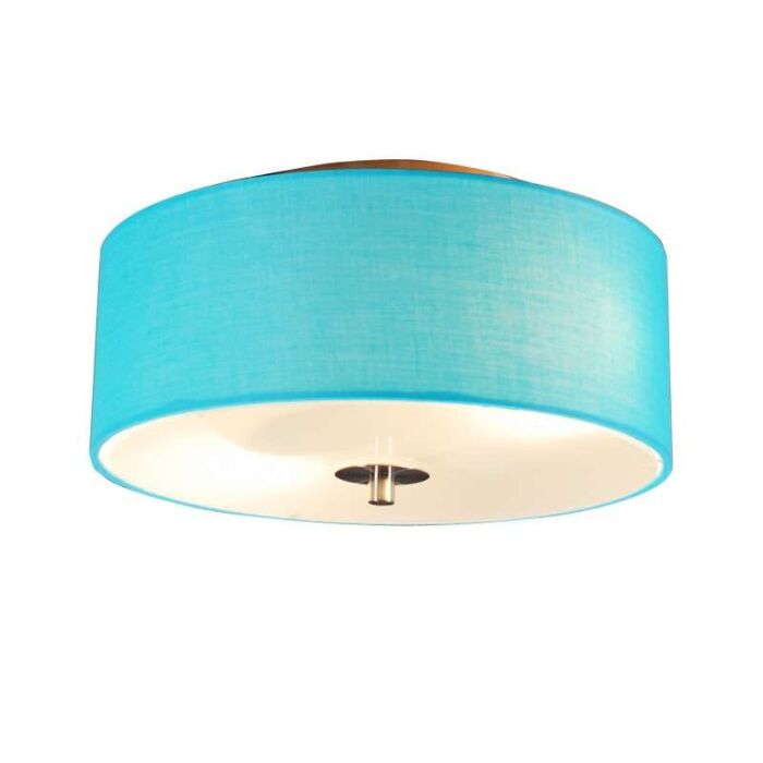 Ceiling-lamp-Drum-30-round-aqua