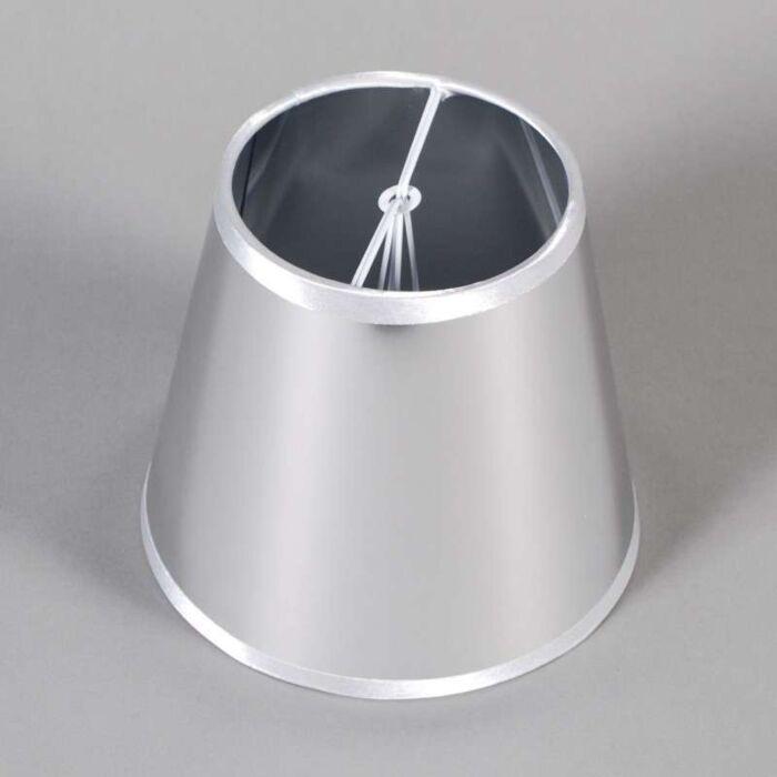 Clamp-Shade-Round-15cm-Magic-Grey-Silver