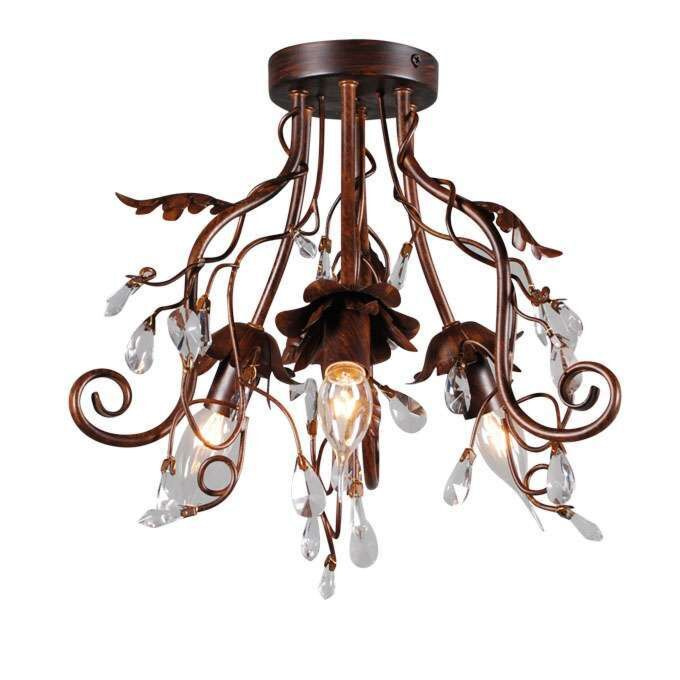 Ceiling-lamp-Romance-3-antique-brown