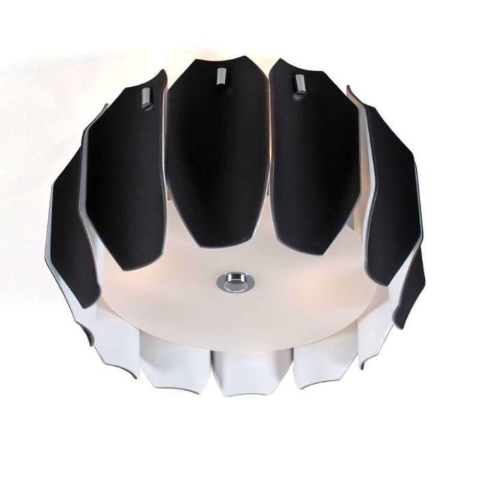 Ceiling-lamp-Archo-40-chrome-black