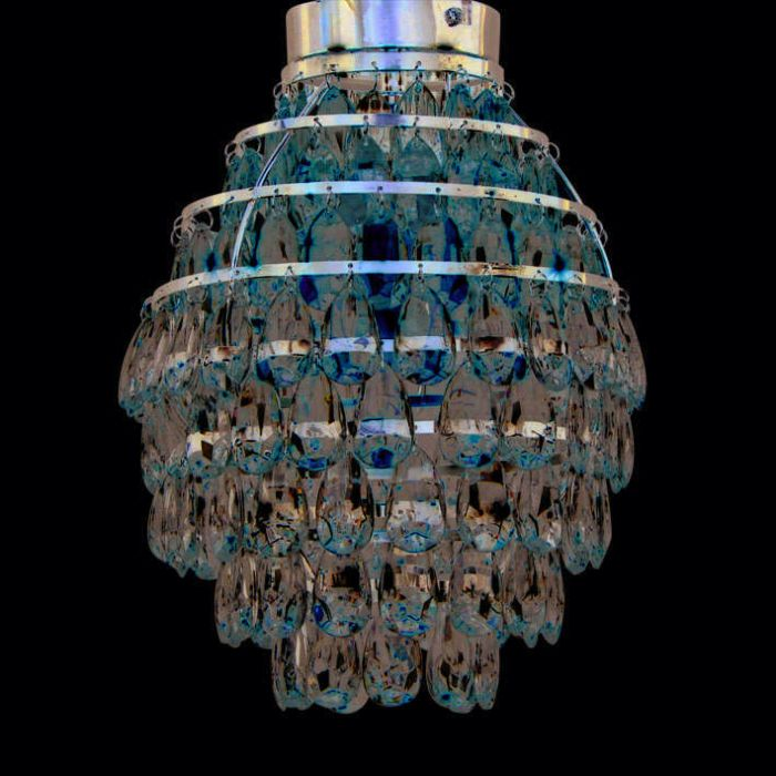 Ceiling-Lamp-Pinecone-Chrome