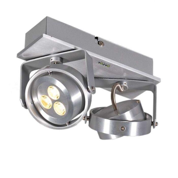 Spotlight-Keoni-2-LED-Aluminium