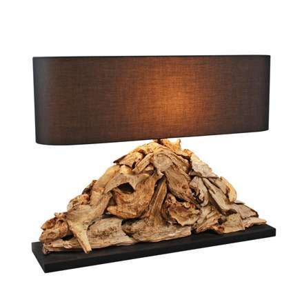 Table-lamp-Raman-Pymia---brown-shade