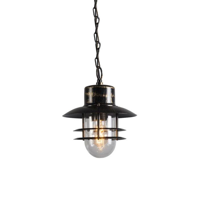 Retro-Pendant-Lamp-bronze---Shell