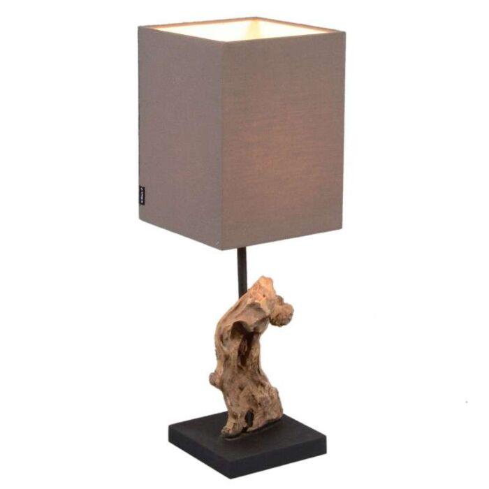 Table-Lamp-Vamida---Brown-Shade