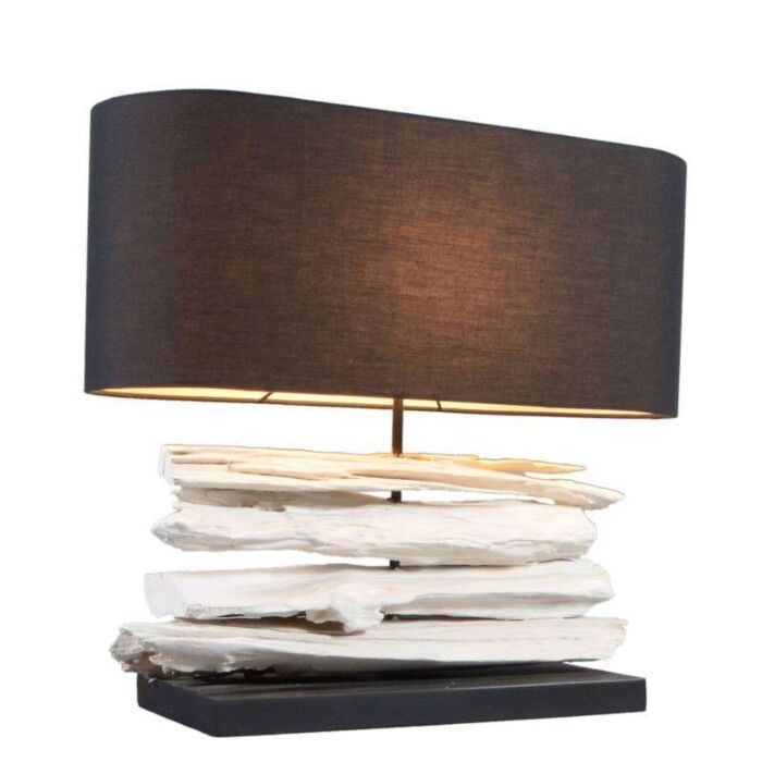 Table-Lamp-Satun-Medium-White---Black-Shade