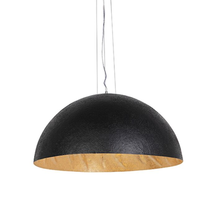 Industrial-hanging-lamp-black-with-gold-70-cm---Magna