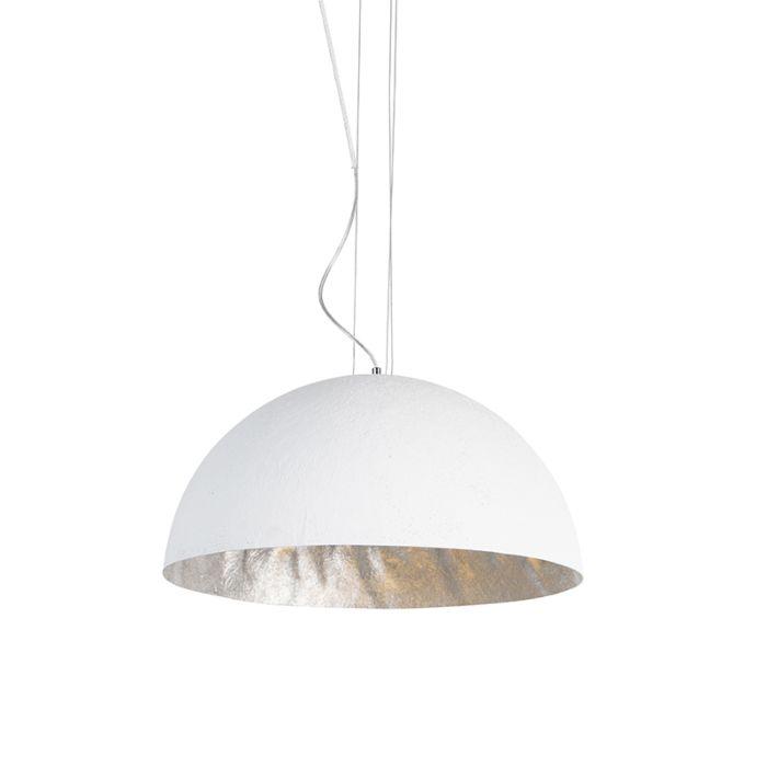 Modern-hanging-lamp-white-50-cm---Magna