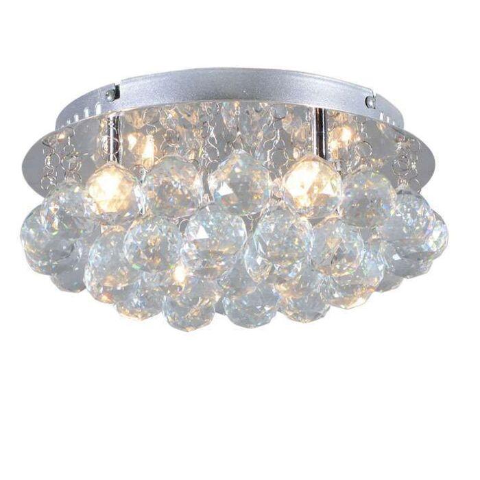Ceiling-Lamp-Diamont-30cm-Chrome
