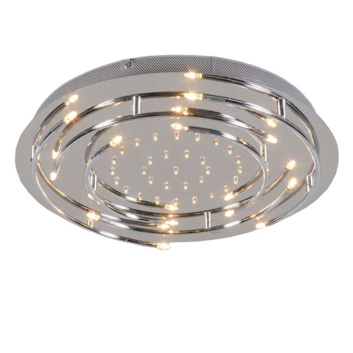 Ceiling-Lamp-Aro-LED-Chrome