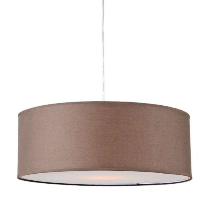 Pendant-Lamp-Tamburo-50cm-Brown