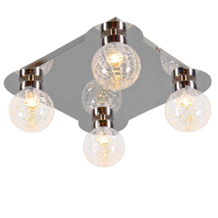 Ceiling-Lamp-Ice-4-LED-Chrome
