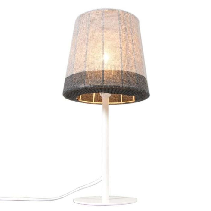 Table-Lamp-Maglia-White-with-Gray