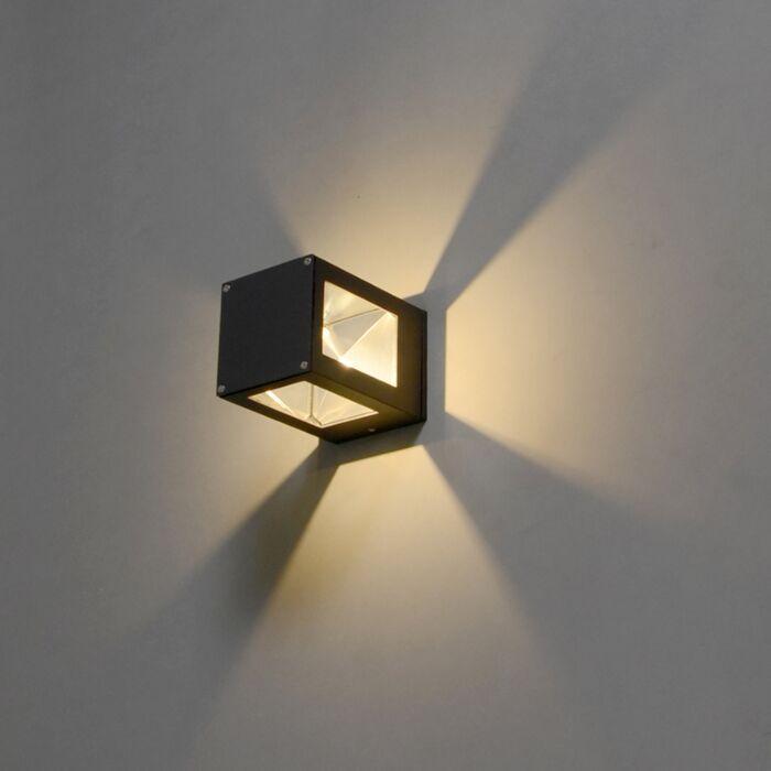 Giro-wall-lamp-in-dark-grey